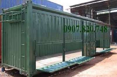 Container mở bửng