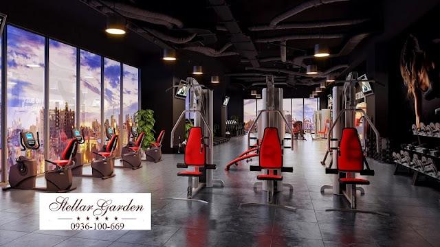 Phòng Gym chung cư Stellar Garden 35 Lê Văn Thiêm