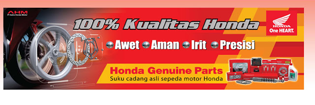 daftar harga spare parts honda genuine part