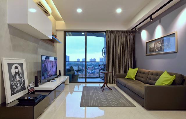 Thiết kế chung cư đẹp - Mẫu số 8