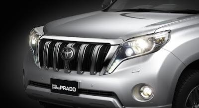 Toyota Land Cruiser Prado Headlight image