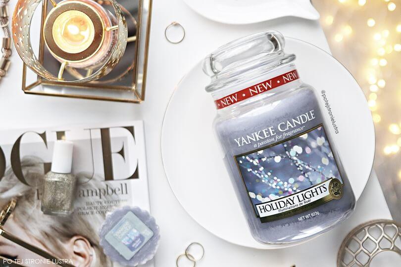 holiday lights yankee candle zapach limitowany zima 2018