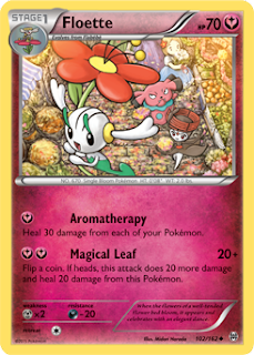 Floette BREAKthrough Pokemon Card