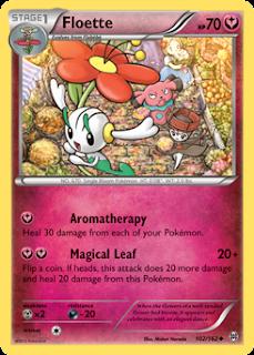 Floette BREAKthrough Pokemon Card