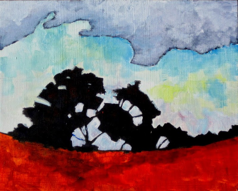 contemporary landscape | paiinting | art