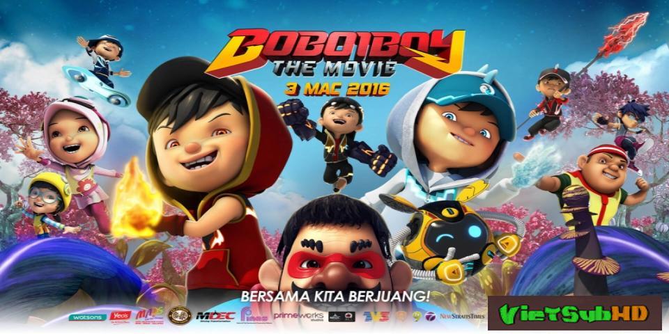 Phim BoBoiBoy Phiêu Lưu Ký VietSub HD | BoBoiBoy: The Movie 2016