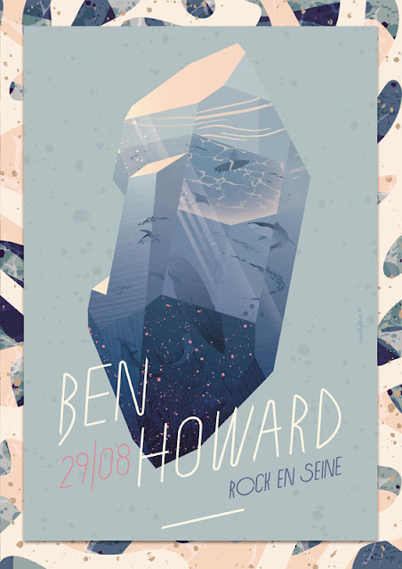 cartel de Ben Howard de CRUSCHIFORM