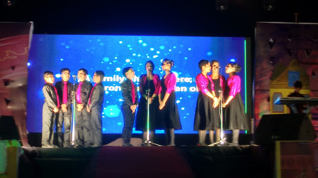 DPS Sidharth Vihar Students' performances stole the evening on Annual Day