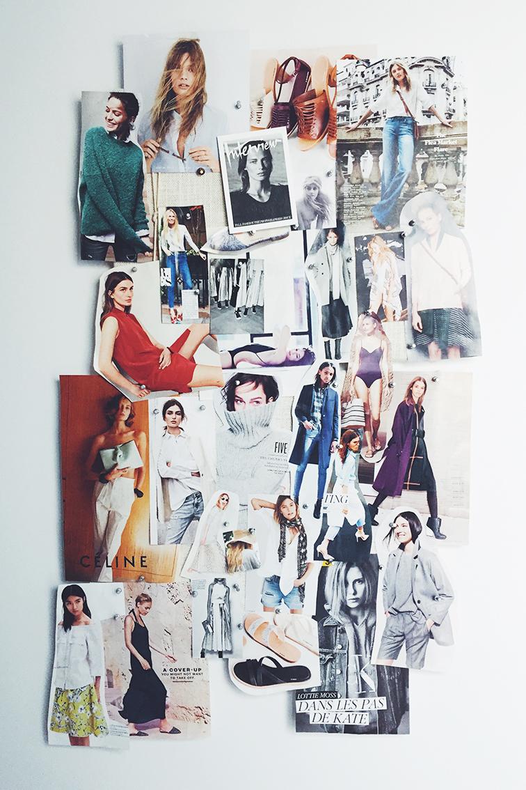 Fashion Over Reason Real Life Mood Board