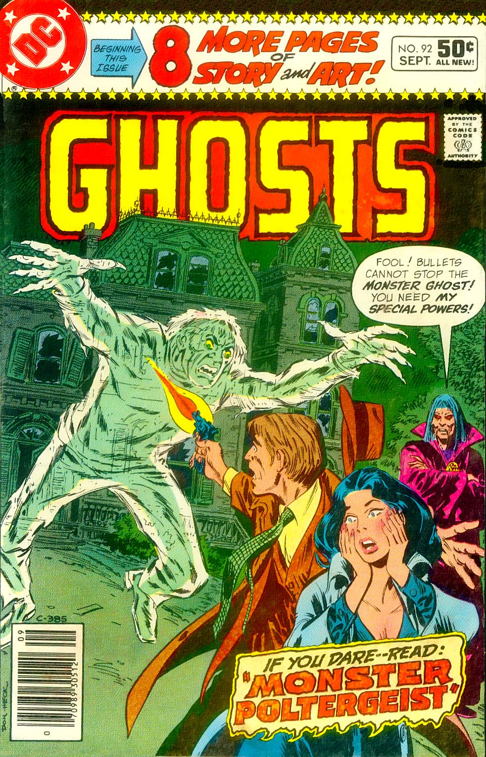 Read online Ghosts comic -  Issue #92 - 2