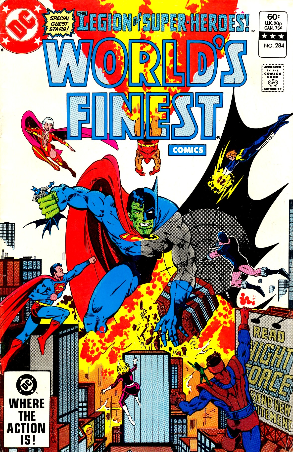 Read online World's Finest Comics comic -  Issue #284 - 1
