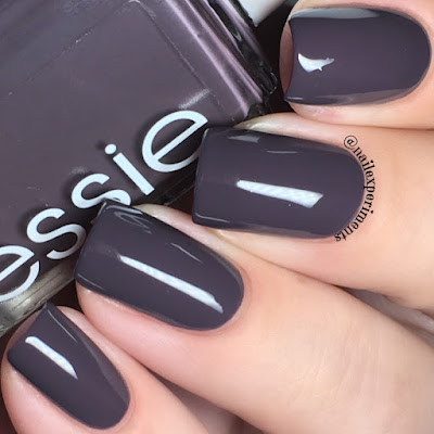 essie smokin' hot swatch