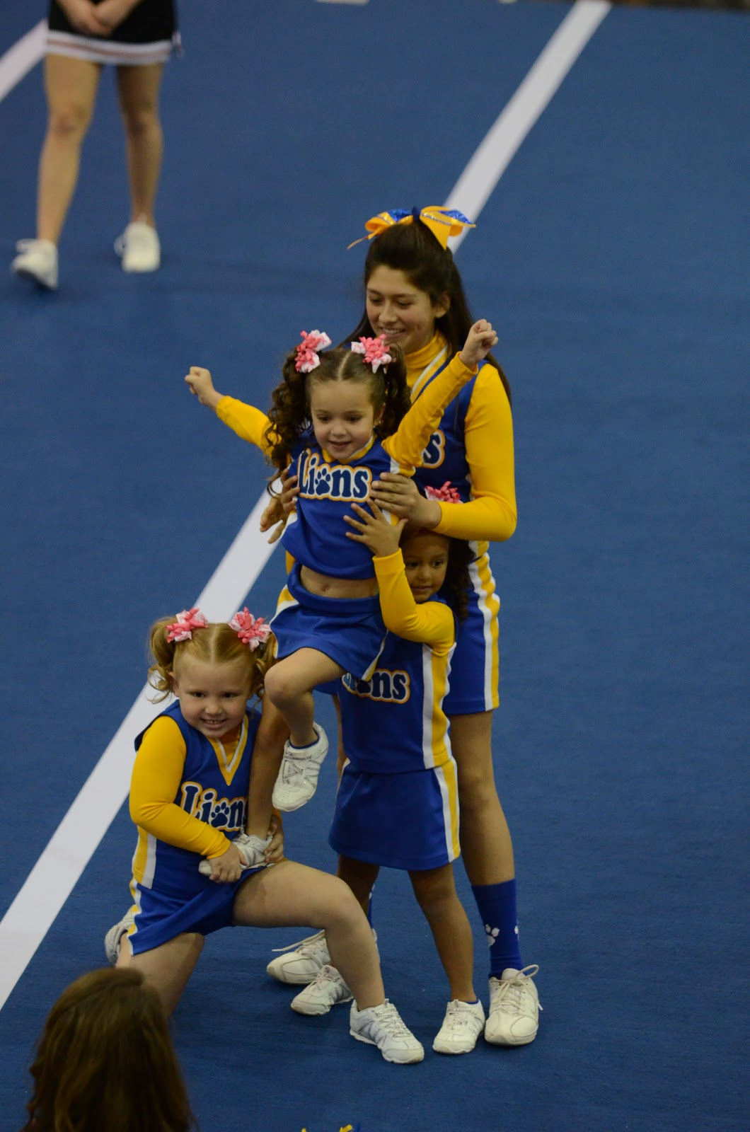 My Girls Cheerleading Competition 2011