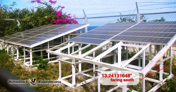 Bolinao Lighthouse Solar Panels Optimum Tilt - Schadow1 Expeditions
