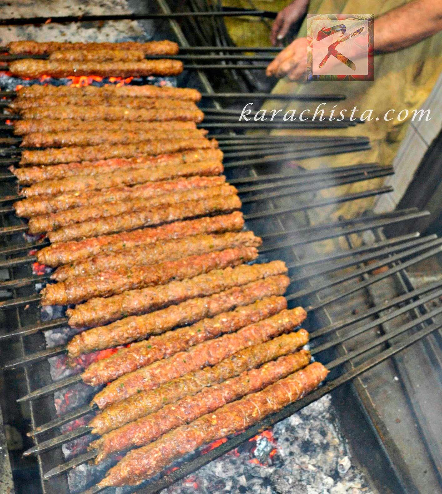 Seekh Kebabs at Waheed Kebab House