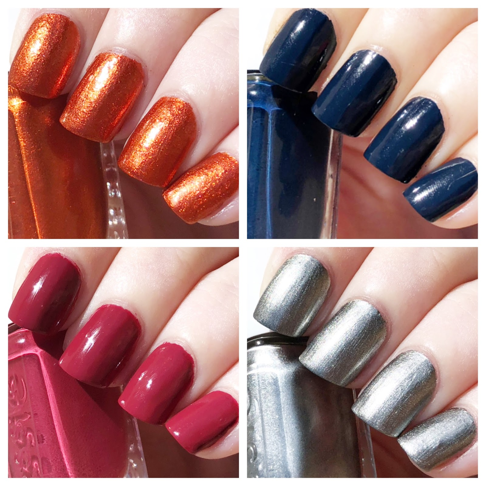 cat eyes & skinny jeans: Essie Fall 2018 Mini Nail Polish Collection ...