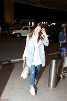 Neha Dhupia in Shirt Denim Spotted at Airport IMG 3526.JPG