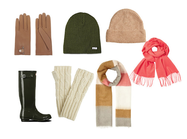 Шапки и шарфы для капсульного гардероба в повседневном стиле Casual
