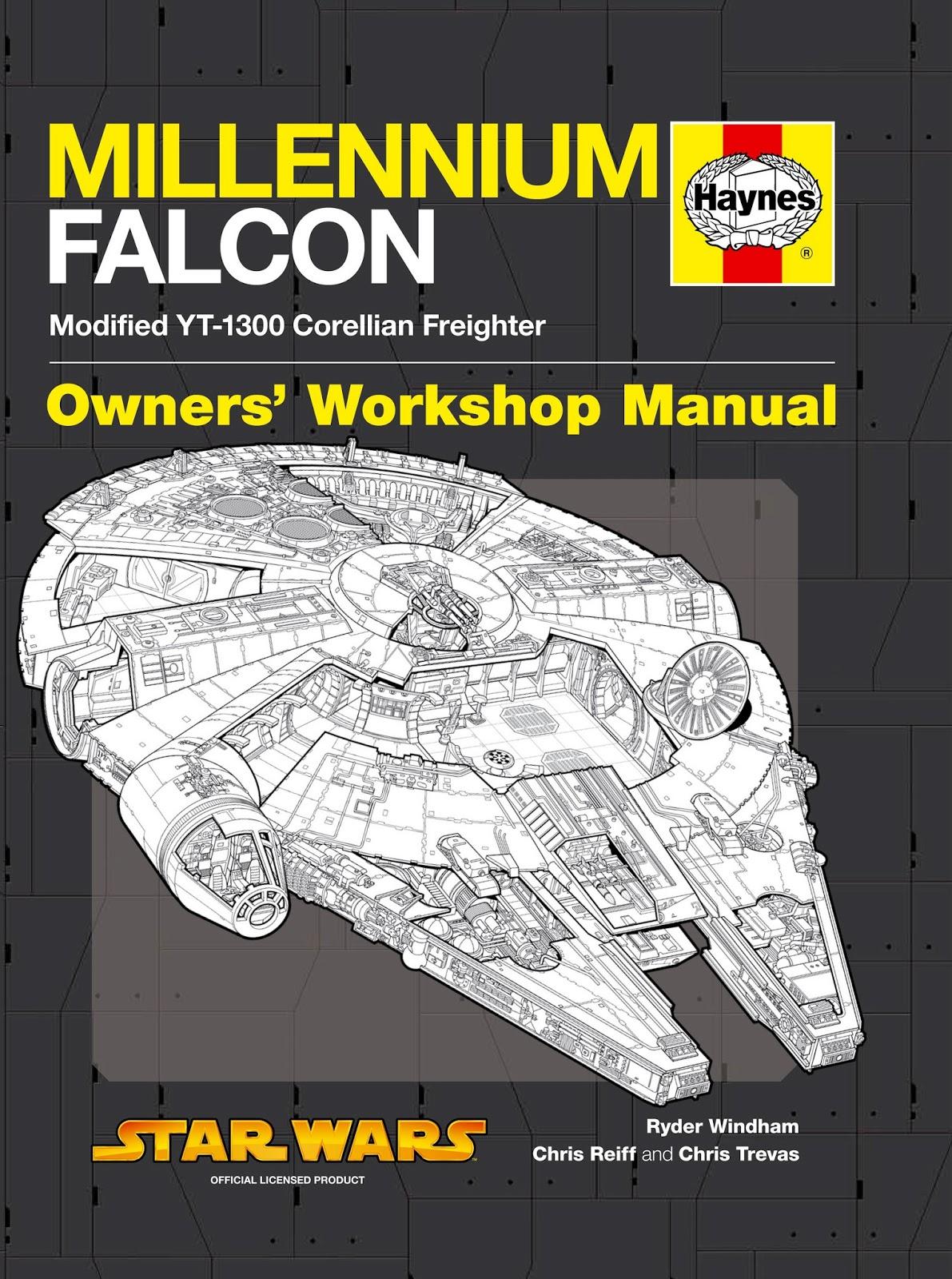 Review  Haynes Millennium Falcon Owners U0026 39  Workshop Manual