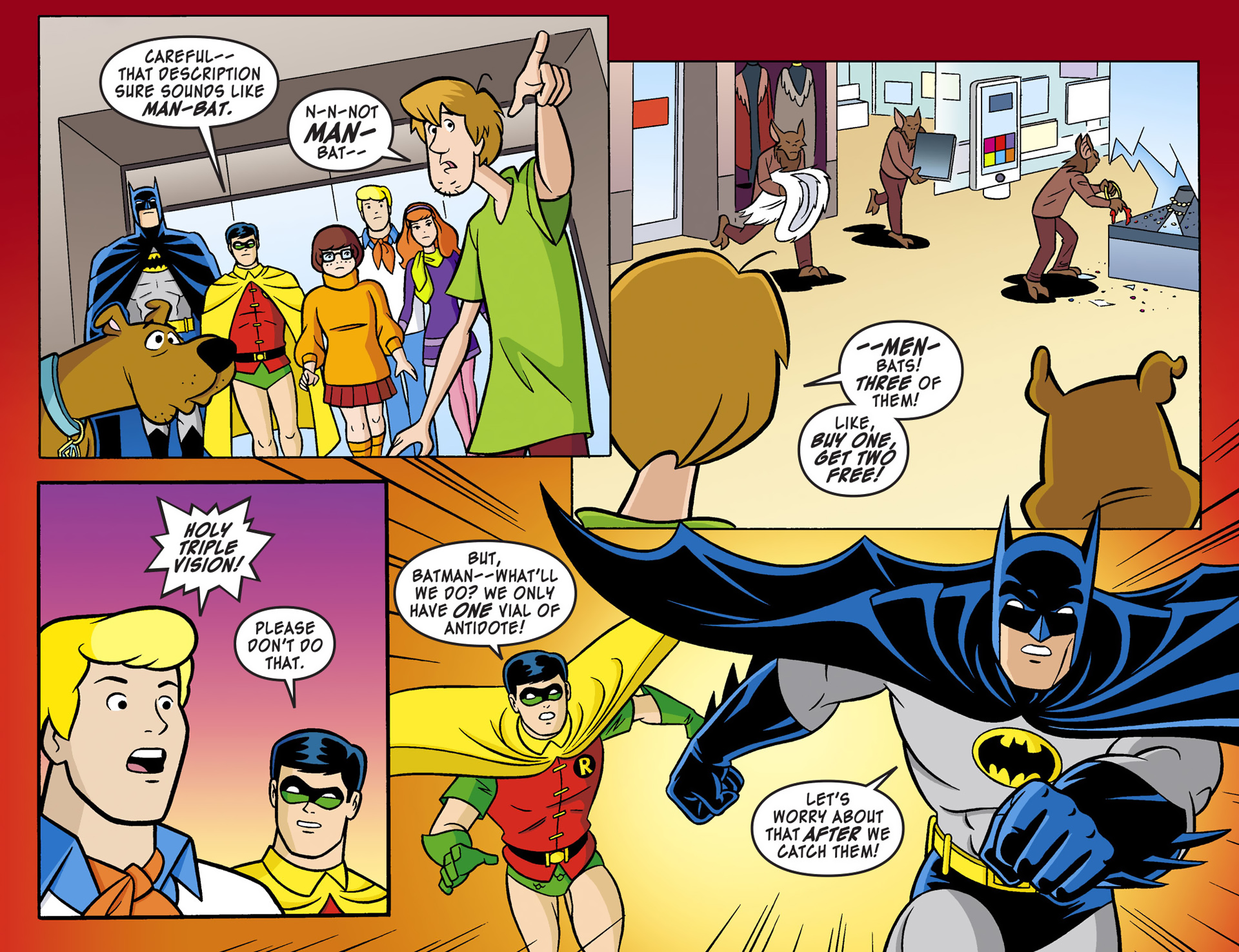 Read online Scooby-Doo! Team-Up comic -  Issue #1 - 12