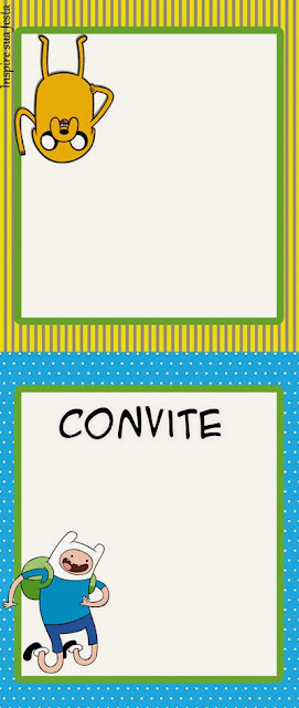 Etiquetas de Hora de Aventuras para imprimir gratis.