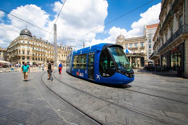 Place de la comedie-Montpellier