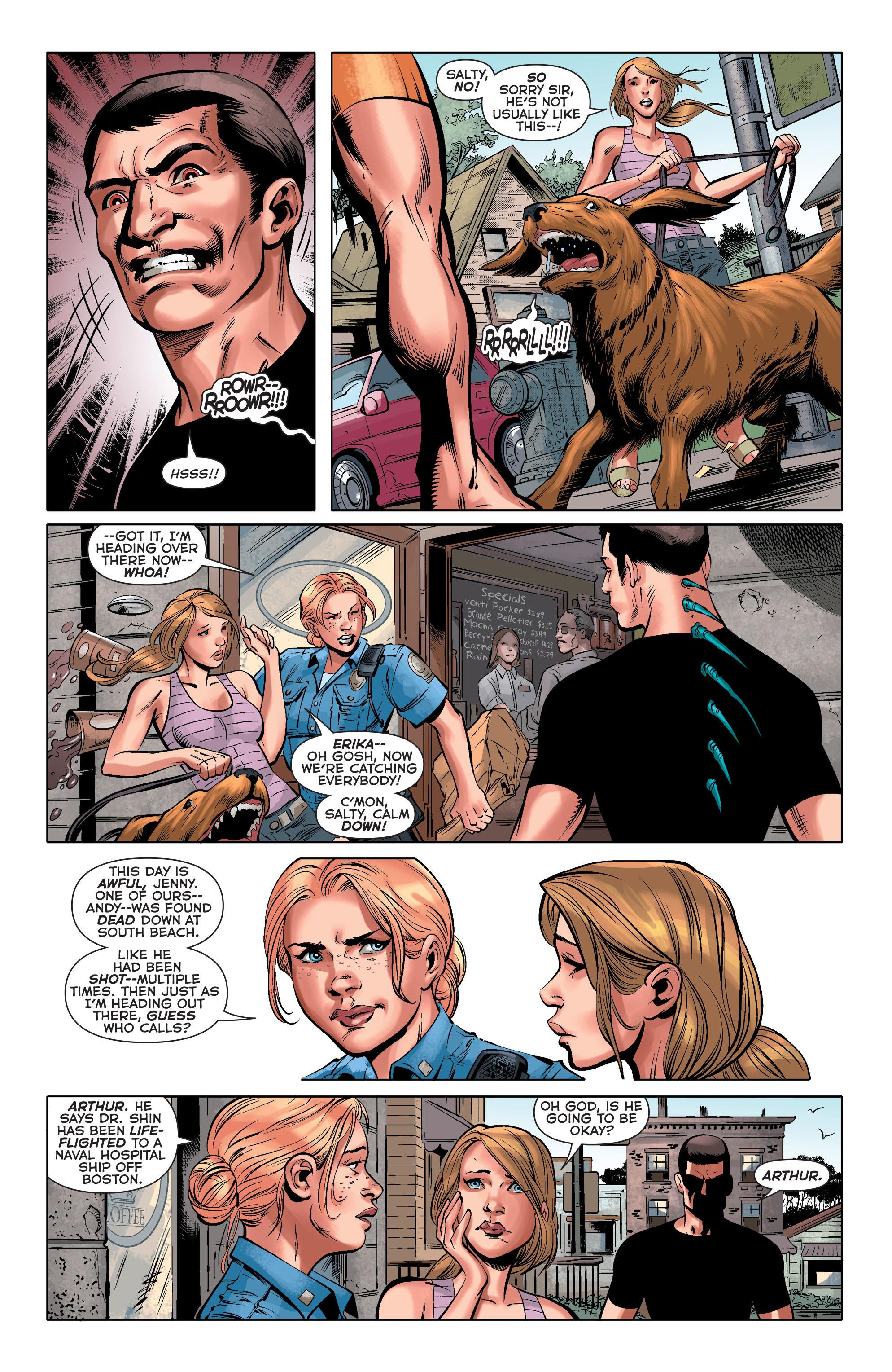 Read online Aquaman (2011) comic -  Issue #33 - 15