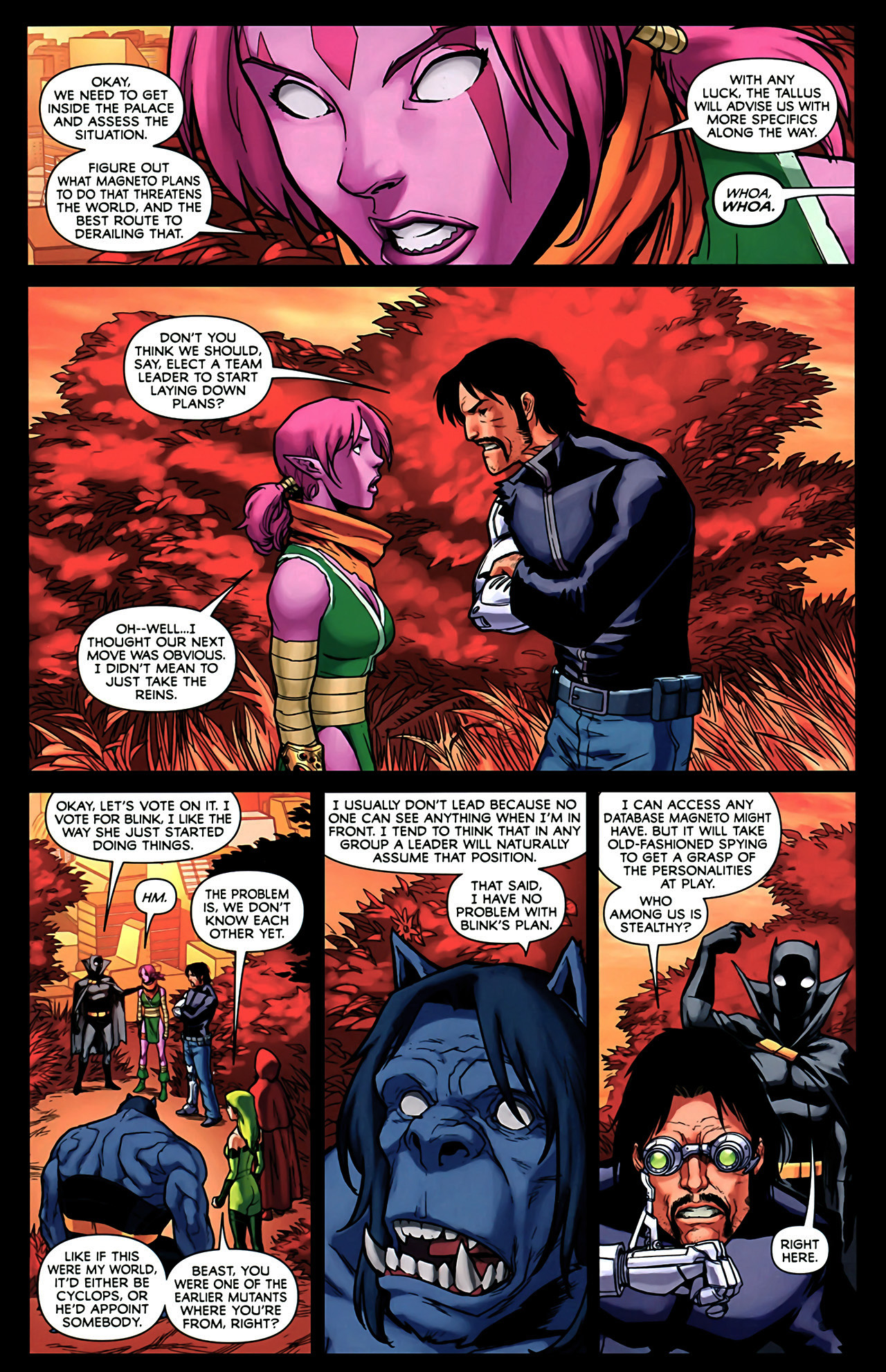 Read online Exiles (2009) comic -  Issue #2 - 4