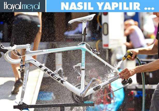 Bisiklet Temizliği - Nasıl Yapılır