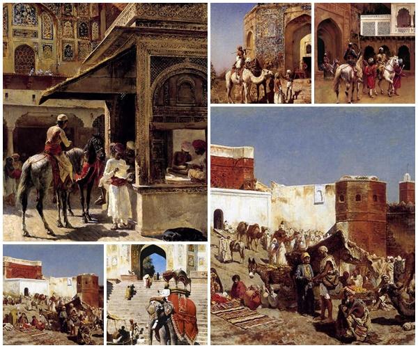 لوحات Orientalist للفنان Edwin Lord Weeks مجموعة ثانية