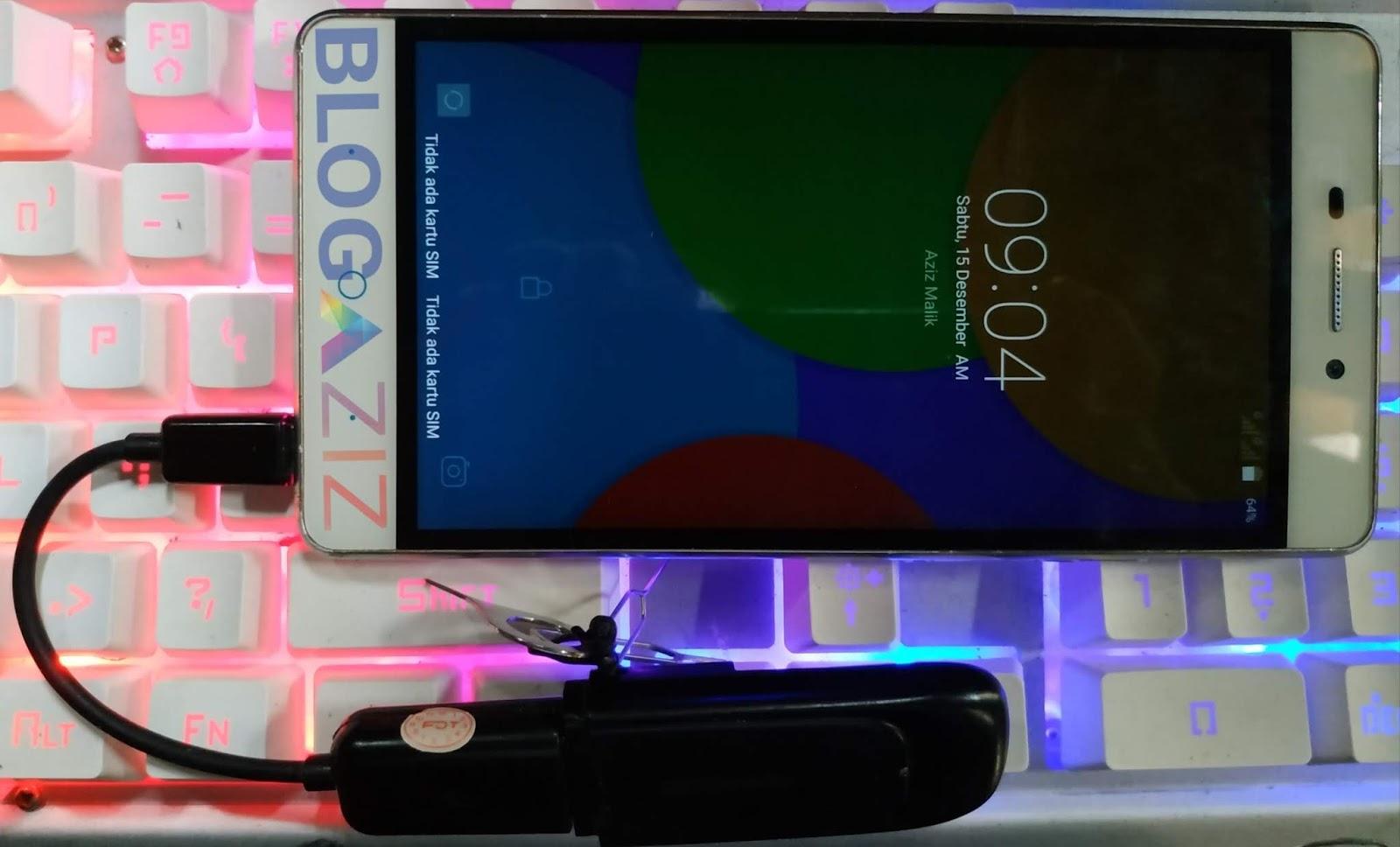 Cara Menghubungkan Modem dengan Smartphone Android Lewat OTG