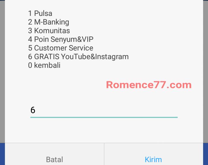 Cara Gratis Youtube Dan Instagram 3 Hari 3 Malam Di Kartu Indosat