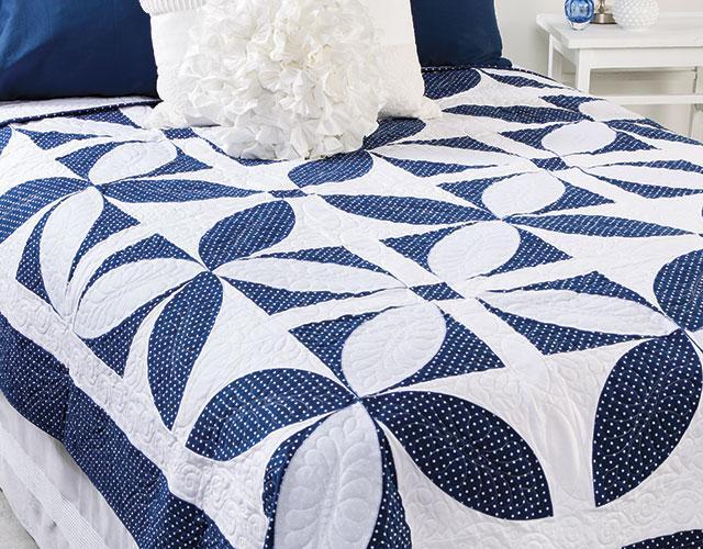 Masterpiece Quilting Orange Peel Bed Quilt