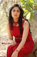 Telugu Actress Zahida Sam Latest Pos in Red Gown at RF Films New Movie Opening  0315.JPG
