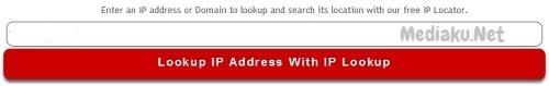 Mengetahui Lokasi Server Dengan IP Tracker