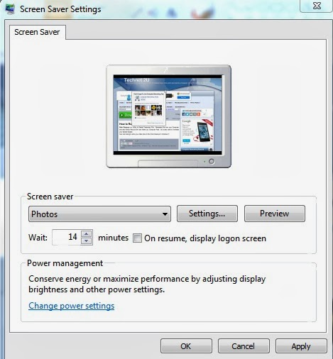 Create Your Own Screen Saver in Windows 7