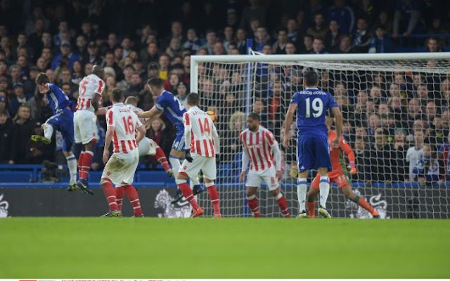 Chelsea vs Stoke Match Highlight