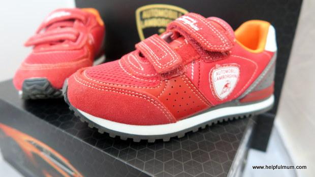Red Lamborghini Trainers