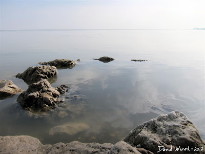 Shoreline of Lake Erie