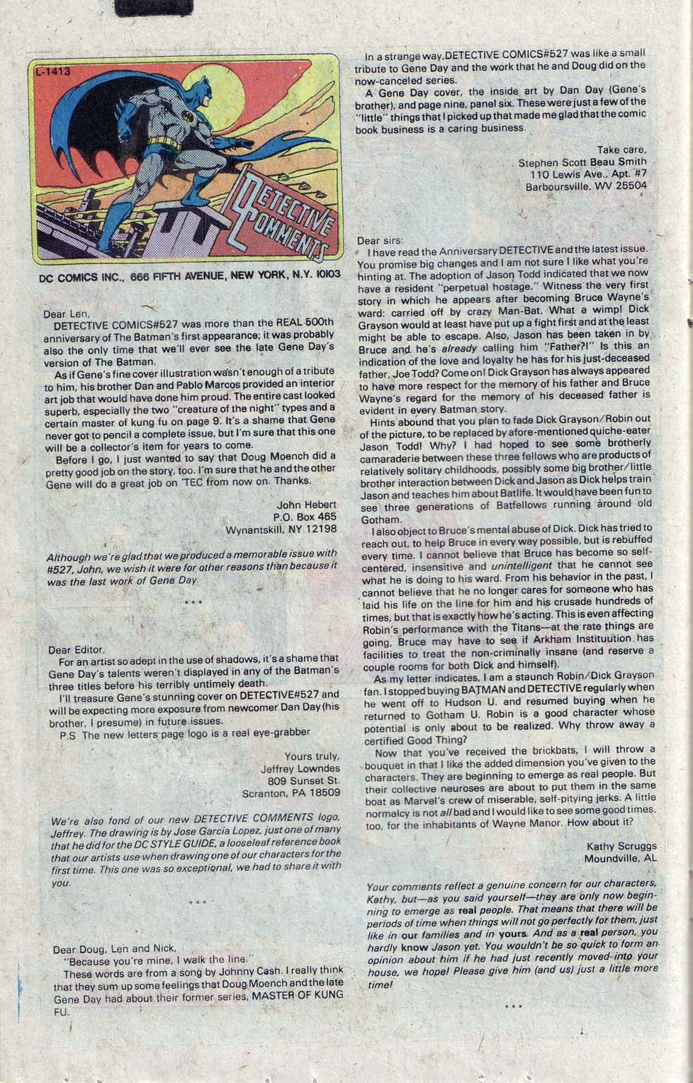 Detective Comics (1937) 530 Page 20
