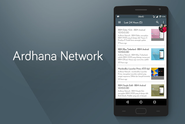 Ardhana Network Apps