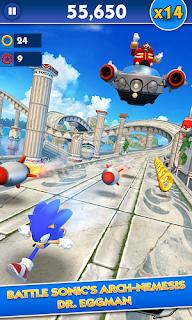 تحيمل لعبة sonic dash مهكرة  اخر اصدار  2020  للاندرويد وللكمبيوتر وللايفون