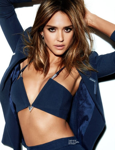 jessica alba sexy models photo shoot for cosmopolitan uk magazine