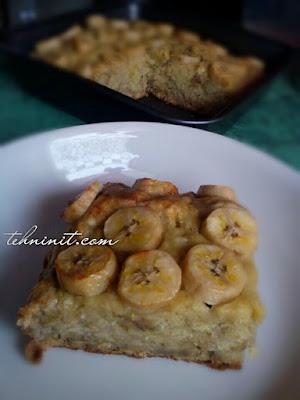 cake full pisang no mixer