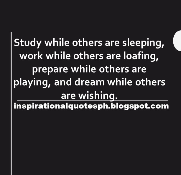 work while others are sleeping