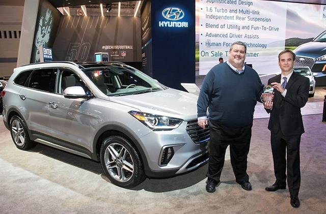 Hyundai Santa Fe And Santa Fe Sport Earn Consumer Guide - Fun car show award categories