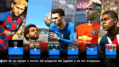PES 2020 PPSPP Android Season 2019/2020 by Bendezu