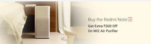 Mi2 Air Purifier Offer