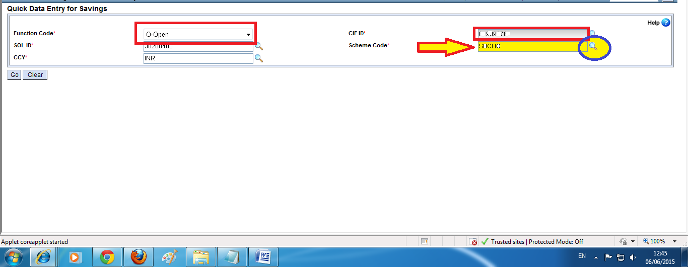 How to Open an SB Account in DOP Finacle - Copy Today