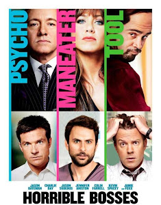 Poster Of Horrible Bosses In Dual Audio Hindi English 300MB Compressed Small Size Pc Movie Free Download Only At worldfree4u.com